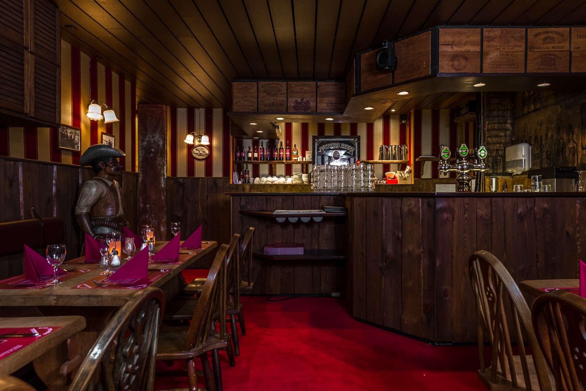 Selskaber – Hyggelig western restaurant og pub i København nær Tivoli